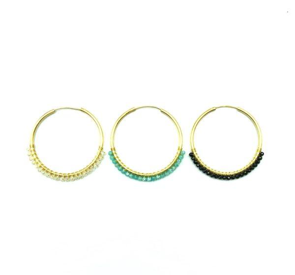 jones minerals earrings